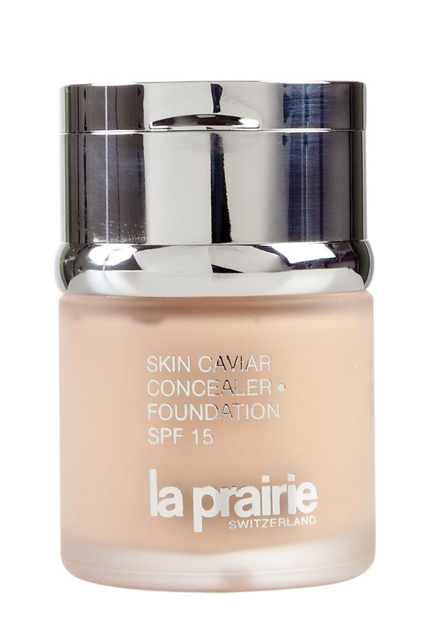 La Prairie Skin Caviar Concealer Foundation SPF 15, R$ 676: combinação de tratamento rejuvenescedor com base colorida, dá um toque sedoso à pele. La Prairie 11 3082-0820
