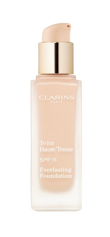 Clarins Teint Haute Tenue SPF 15, R$ 176: fórmula com silicone e argila, que absorve a umidade e o excesso de oleosidade e deixa a aparência saudável por 15 horas. Clarins 0800-7043440