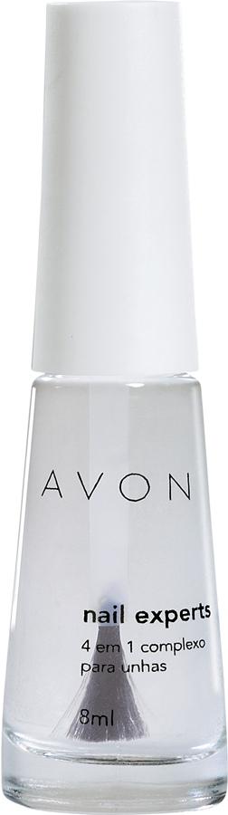 Avon 4 em 1, R$ 4,50: aplicado como base, protege as unhas; aplicado após  o esmalte, prolonga  sua durabilidade.  Avon 0800-7082866
