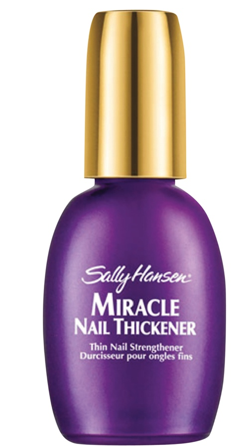 Sally Hansen Miracle Nail Thickener, R$ 69,90: forma uma camada protetora e garante unhas mais espessas  em quatro dias. Sally Hansen (11) 3649-1988