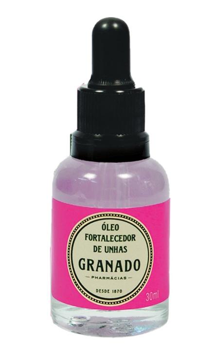 Granado Óleo Fortalecedor de Unhas, R$ 25,35: repõe o silicone presente na queratina das unhas, fortalecendo-as. Granado (11) 3061-0891