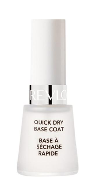 Revlon Quick Dry  Base Coat, R$ 46,63:  base de longa duração, previne a quebra  e o amarelamento  das unhas. Revlon  0800-7733450