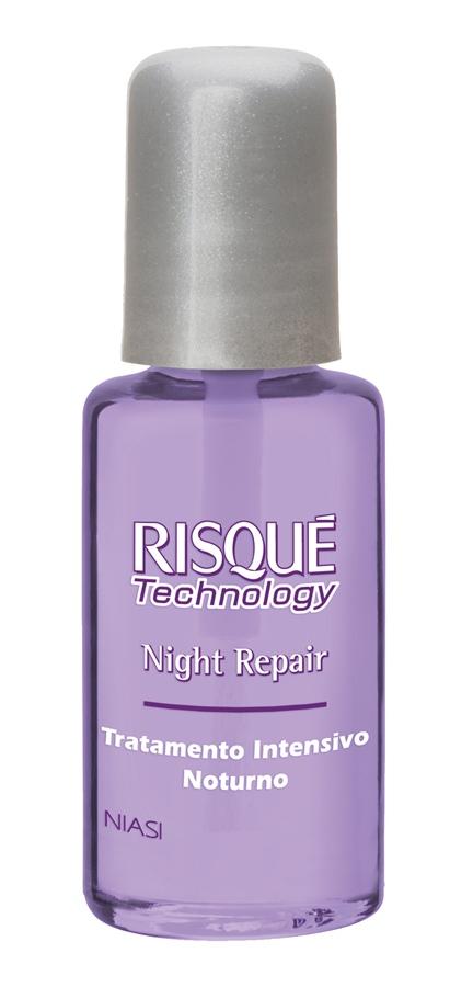 Risqué Technology Night Repair, R$ 7: tratamento intensivo noturno que nutre e previne a descamação. Risqué 0800-1145