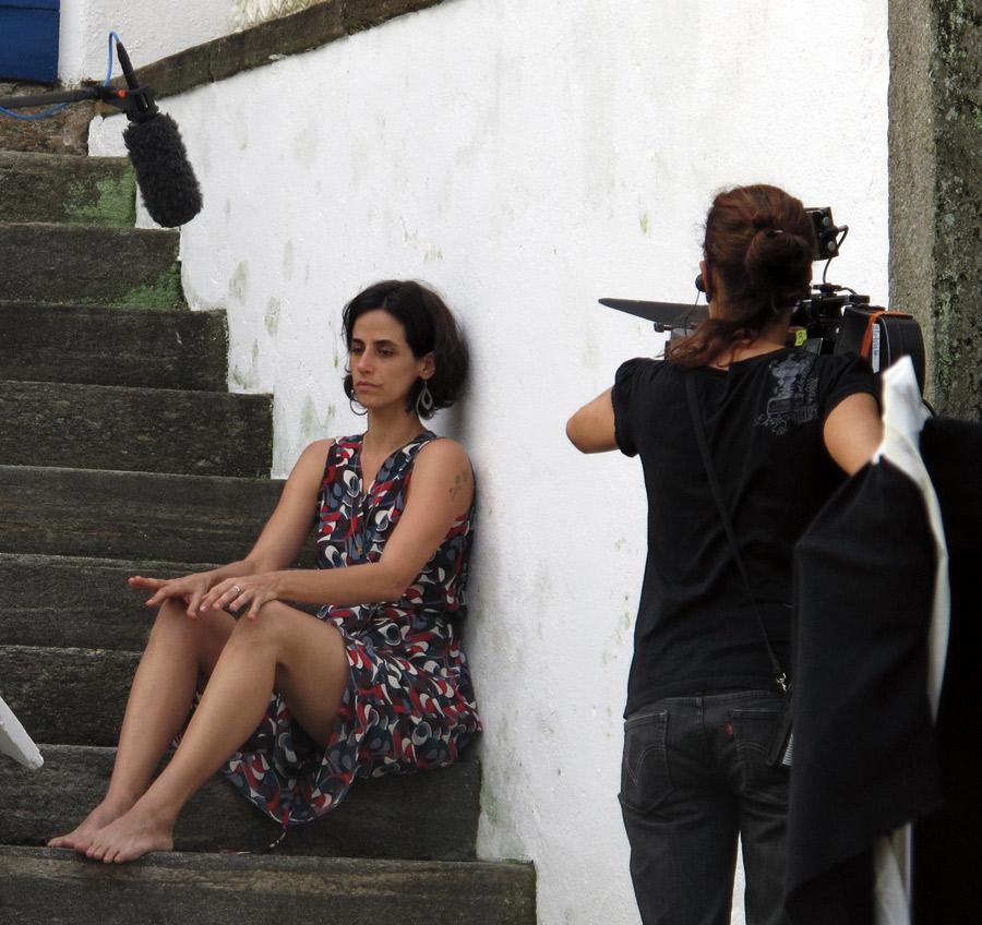 Em gravação do longa recém-lançado Amor?, sobre violência nos relacionamentos