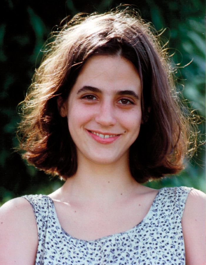 Como Liliana, na novela O Rei do Gado, sua estreia na TV, em 1996