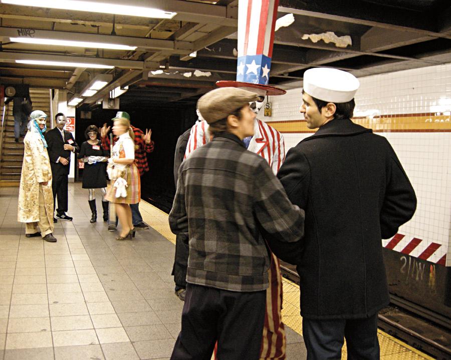 Vá de metrô