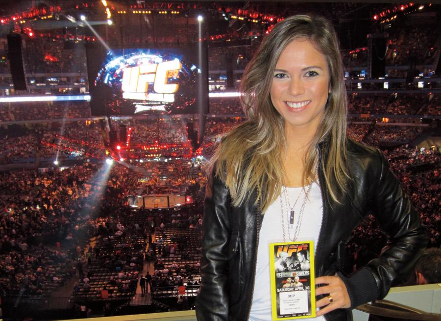Em Toronto, no Canadá,  edição recorde do UFC:  55 mil espectadores