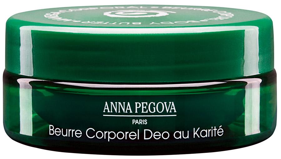 9. Anna Pegova Beurre Corporel Deo au Karité l R$ 75: fórmula com cupuaçu, chá-verde e kiwi, amacia a pele sem deixar sensação oleosa. Anna Pegova: 0800-131345