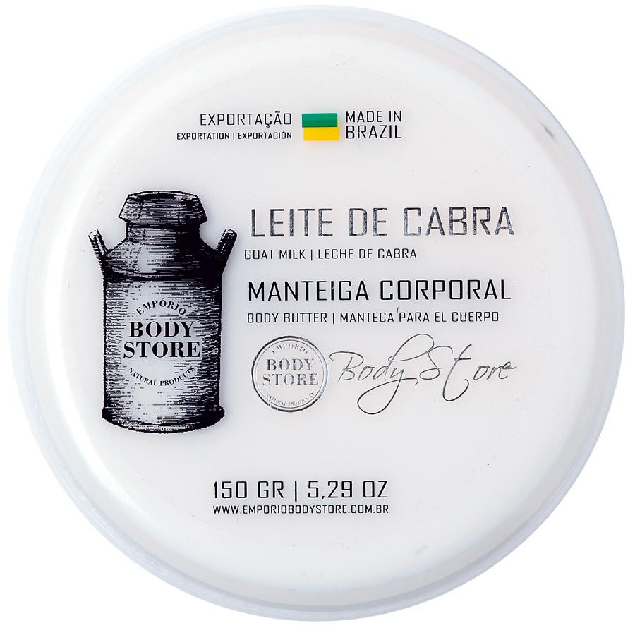 6. Empório Body Store Manteiga Corporal Leite de Cabra l R$ 55,90: proporciona alta hidratação com o poder do leite de cabra. Empório Body Store: (51) 3026-2808