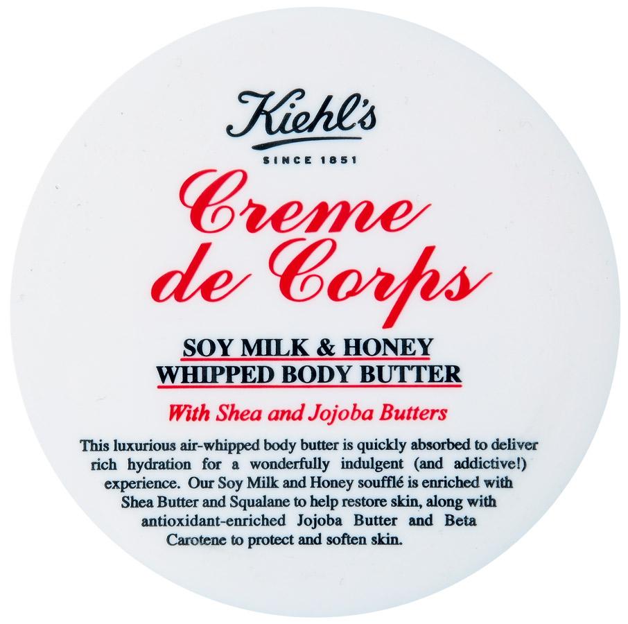 5. Kiehl's Creme de Corps Soy Milk & Honey Whipped Body Butter l R$ 129: com agentes antioxidantes, protege e suaviza a pele garantindo hidratação por até 24 horas. Kiehl's: 0800-7228883