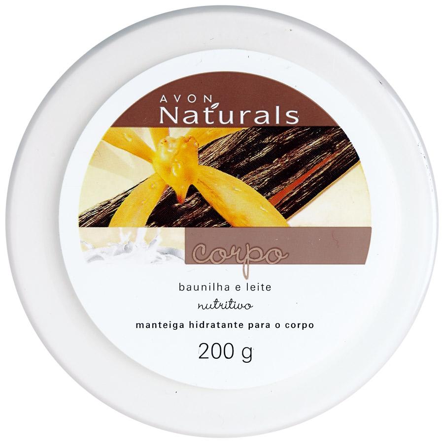4. Avon Naturals Manteiga Hidratante Baunilha e Leite l R$ 22: textura leve, não oleosa e de rápida absorção. Avon: 0800-7082866