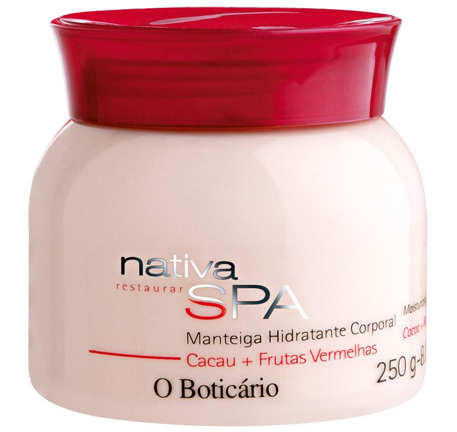 8. O Boticário Manteiga Hidratante Corporal Cacau + Frutas Vermelhas l R$ 39,40: indicado para áreas muito ressecadas, proporciona maciez à pele. O Boticário: 0800-413011