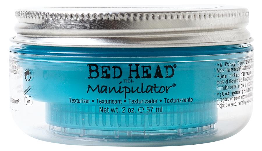 6. TIGI Bed Head Manipulator, R$ 119,90: proporciona volume com acabamento fosco e fixação média. TIGI 0800-7099440