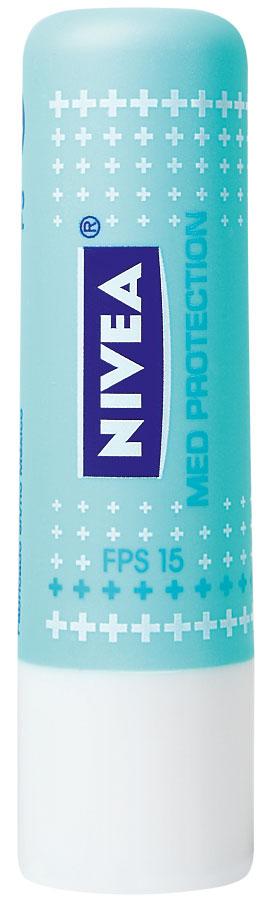 Lip Care Med Protection, R$ 7: protege e trata as fissuras provocadas pelo sol, pelo frio e pelo efeito de medicamentos. Nivea 0800-7764832
