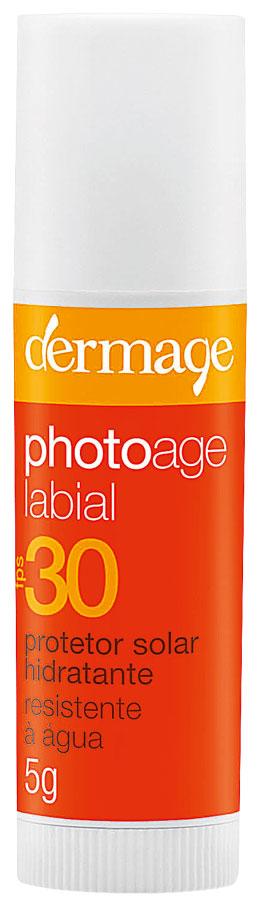 PhotoAge FPS 30,  R$ 29,90: tem alta proteção solar  e é resistente à água. Dermage 0800-0241064