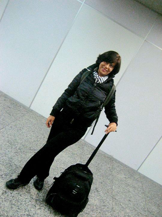 """Destino: NY. Nas primeiras férias oficiais da vida, em julho de 2011. """"Viajei um mês com uma mala clean, nem despachei"""""""