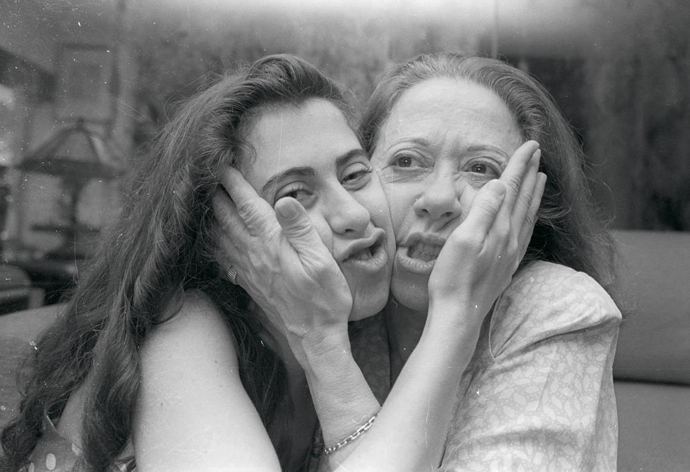 Fernandas, Torres e Montenegro, em foto de 1993