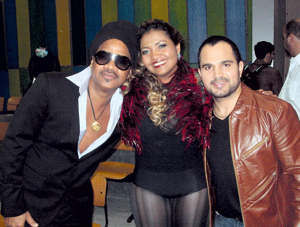 No mesmo Som Brasil, com Carlinhos Brown e Luciano
