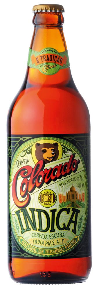 • Indica (Brasil) – É uma American IPA, sua cor é cobre escuro, tem sabor e aroma intensos de lúpulo. Nesta há adição de rapadura, acentuando seu sabor. Copo ideal: caldereta (copo de chope)