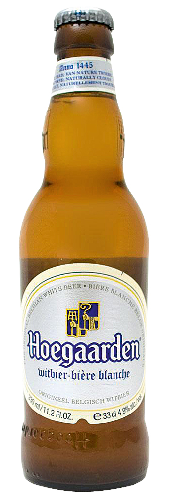 • Hoegaarden (Bélgica) – É uma witbier, de coloração pálida, produzida com trigo não maltado, tem toques de condimentos como coentro e casca de laranja, com amargor leve. Copo ideal: tumbler (copo grandão).