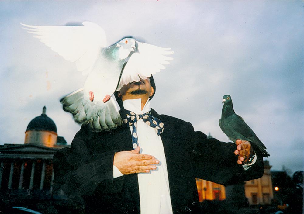Em Londres em 1995