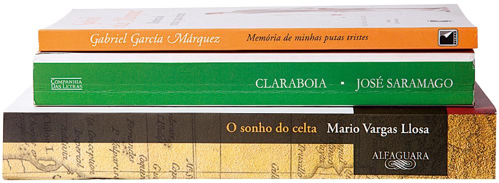 José Saramago, Mario Vargas Llosa e Gabriel García Márquez 'Meus escritores do momento'