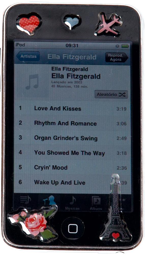 iPod 'Tem Nana Caymmi, Joni Mitchell e Ella Fitzgerald'