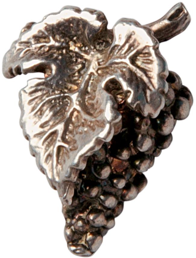 Broche de uva 'É usado por sommeliers'