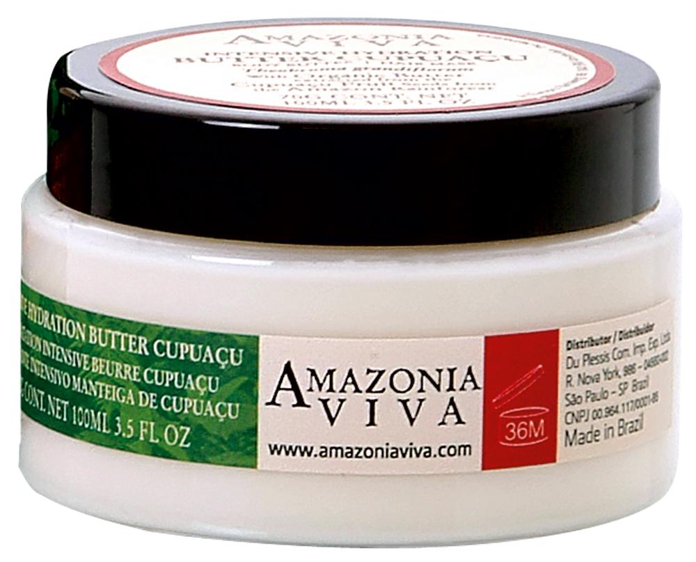 In natura: 'Não uso muita química no corpo, mas a Manteiga Orgânica de Cupuaçu, da Amazonia Viva, passo tranquila, porque ela tem ingredientes naturais'