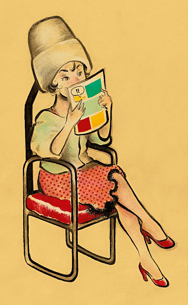 """Lady""""s Comic: Tem como slogan: HQ não é só para o seu namorado. São três meninas de lugares diferentes do Brasil: Bahia, Santa Catarina e São Paulo. Elas se juntaram para escrever sobre o universo feminino em quadrinhos, ou sobre o universo dos quadrinhos com o olhar feminino. Dali tirei várias boas dicas de leitura / Vai lá: www.ladyscomic.com.br"""