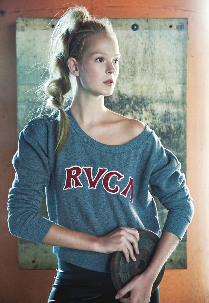 blusa Rvca para Cartel 011 R$ 228, legging Antix R$ 138