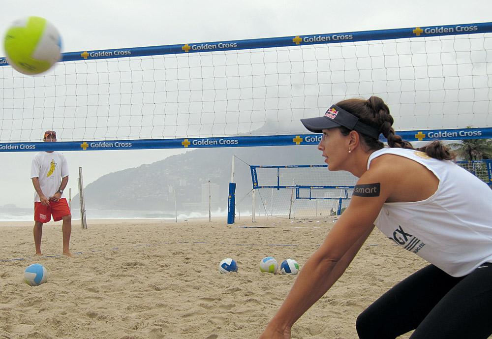 """""""Quando cheguei à praia para o treino o tempo tinha fechado. Nem sempre é uma delícia estar ali como imaginam"""""""