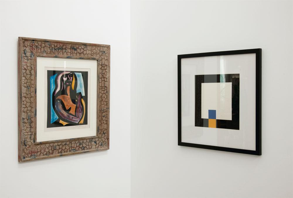 Arte valorizada  Outros dois quadros que fazem parte da coleção do casal: Di Cavalcanti e Macaparana