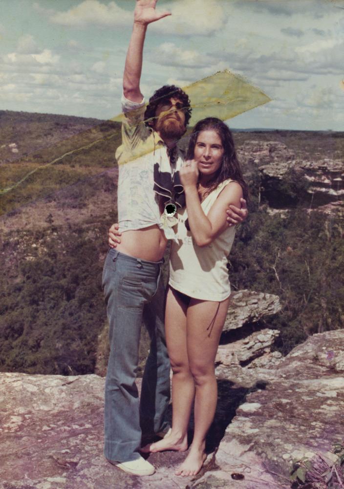 Em viagem pela chapada Diamantina (BA), em 1980
