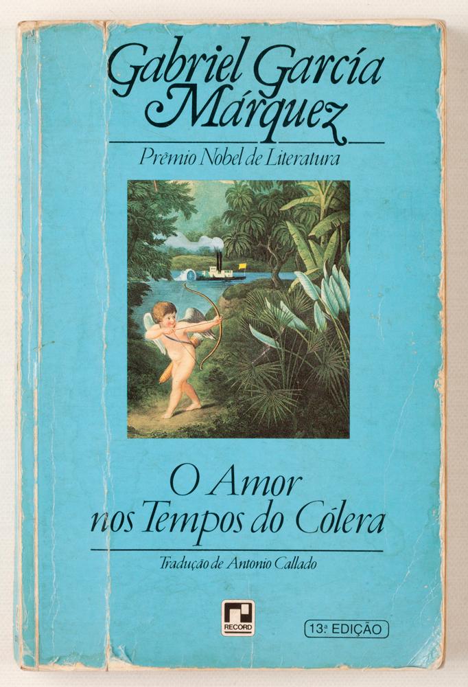 """8. Livro O amor nos tempos do colera """"Do Gabriel García Márques. Meu preferido."""""""