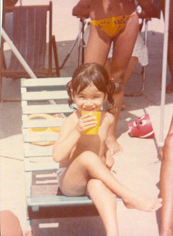 com 3 anos em Salinas, no Pará