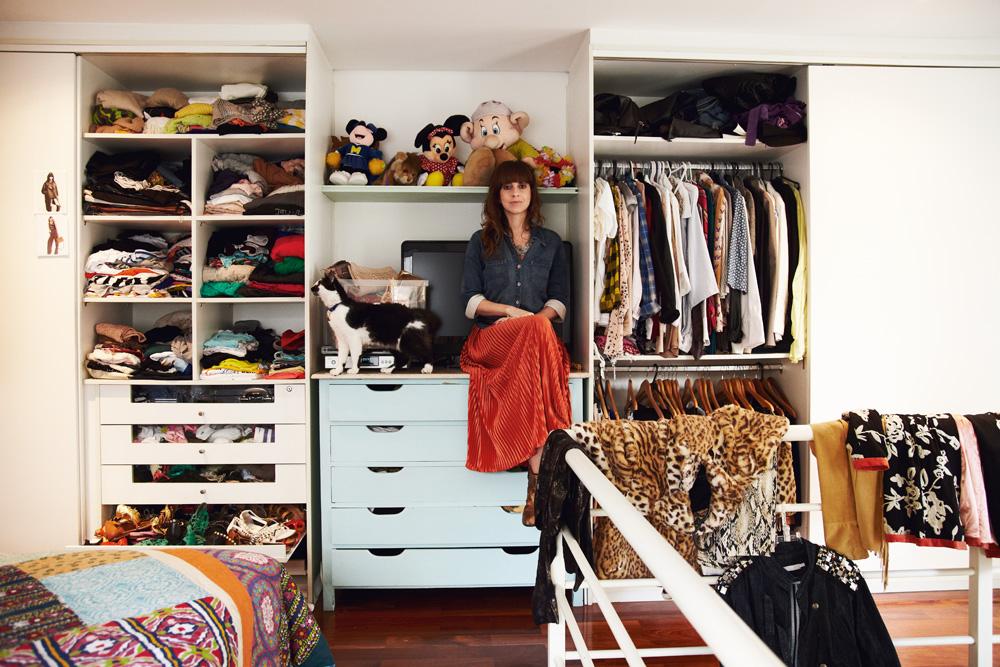 O armário de Fernanda