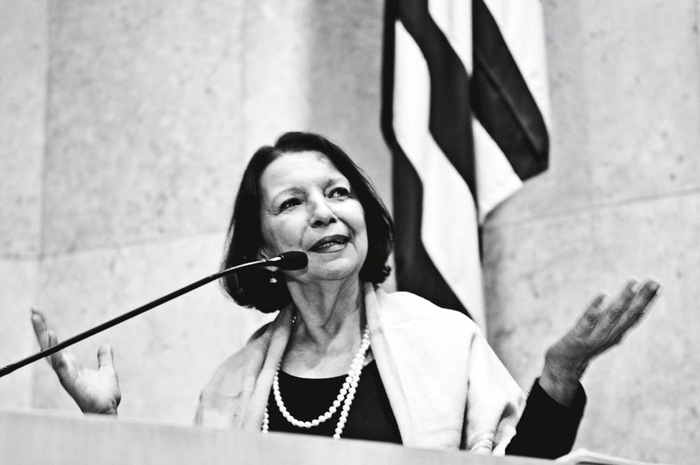 o discurso de agradecimento do título de Cidadã Paulistana