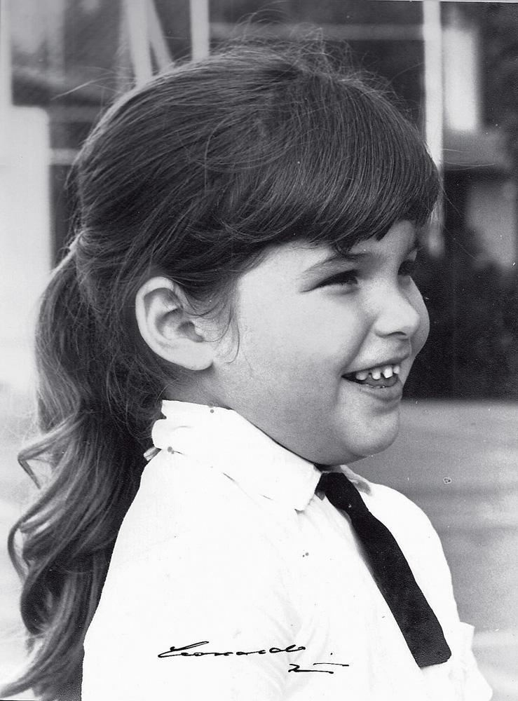 Cristiana aos 7 anos