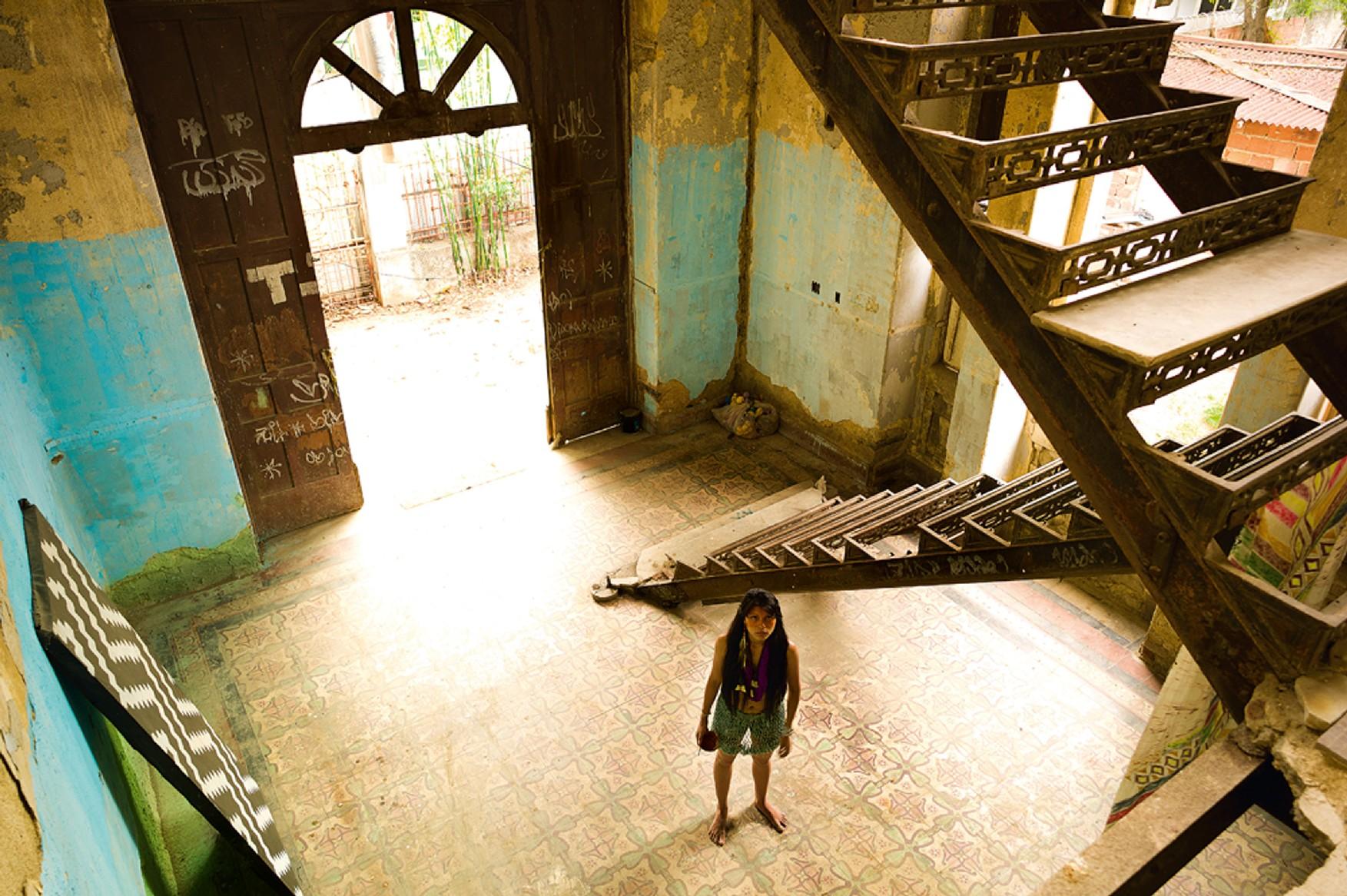 Zahy na aldeia Maracanã, que já foi sede da SPI (antiga Funai)