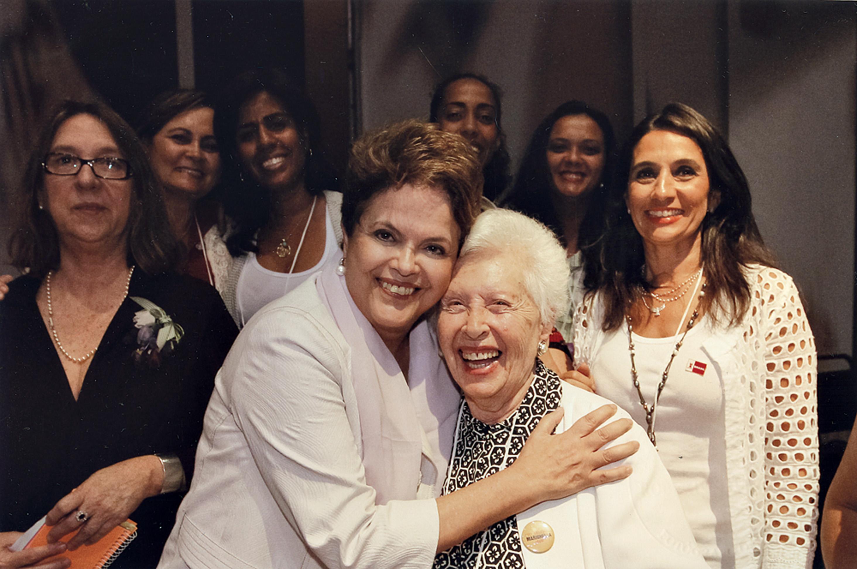 com a presidenta Dilma Rousseff