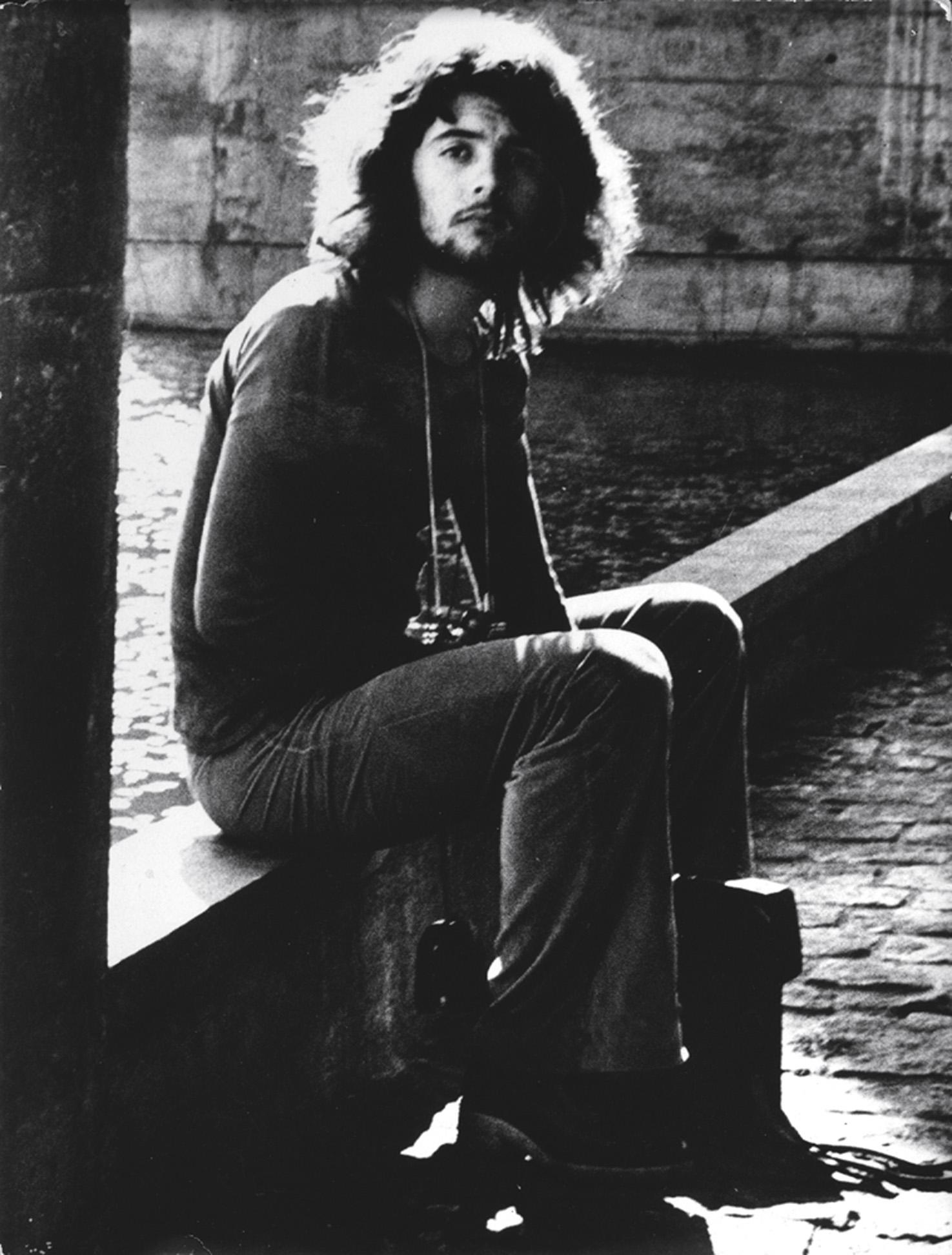 Nos anos 70, recém-chegado em São Paulo, na época em que era assistente do fotógrafo catalão Marcel Giró