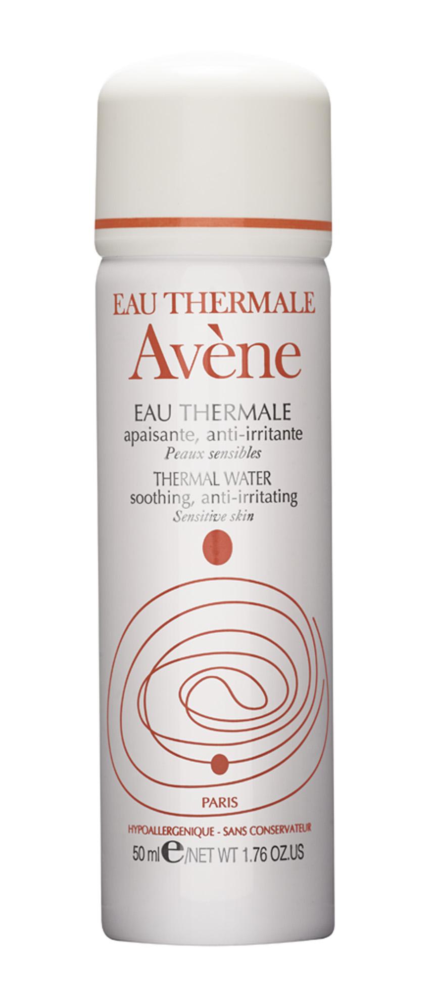 """Refrescante """"Não vivo sem água termal. A que levo sempre comigo é da Avène. A sensação de alívio que ela traz é uma delícia"""""""