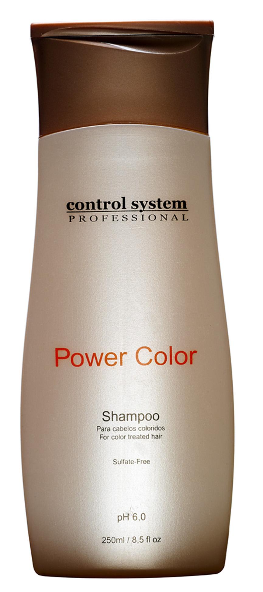 Power Color, R$ 25,50: reconstrói  a fibra do cabelo  e protege das agressões provocadas por fatores térmicos. Control System Professional (11) 5188-0088