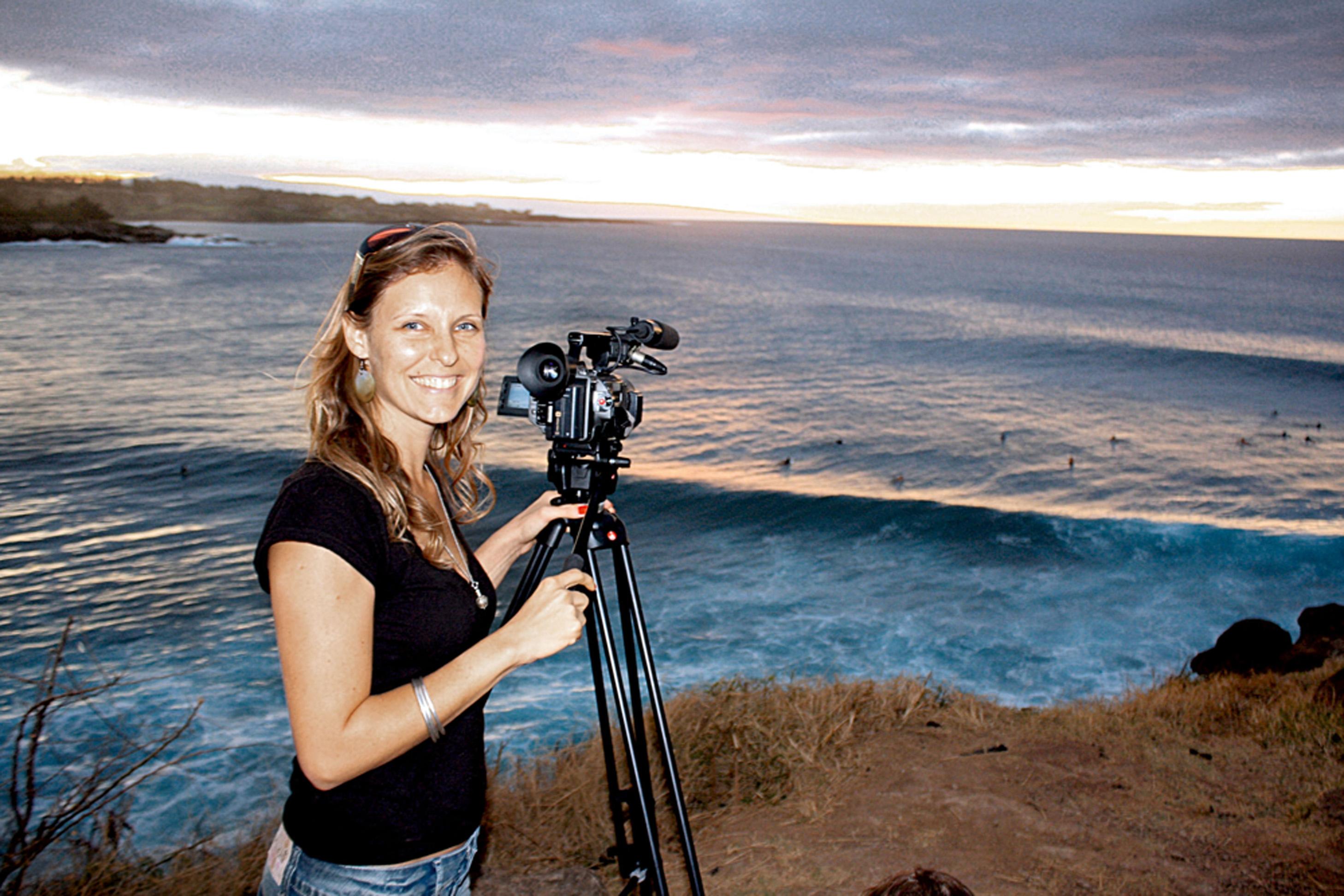 Fabiana em Maui, no Havaí