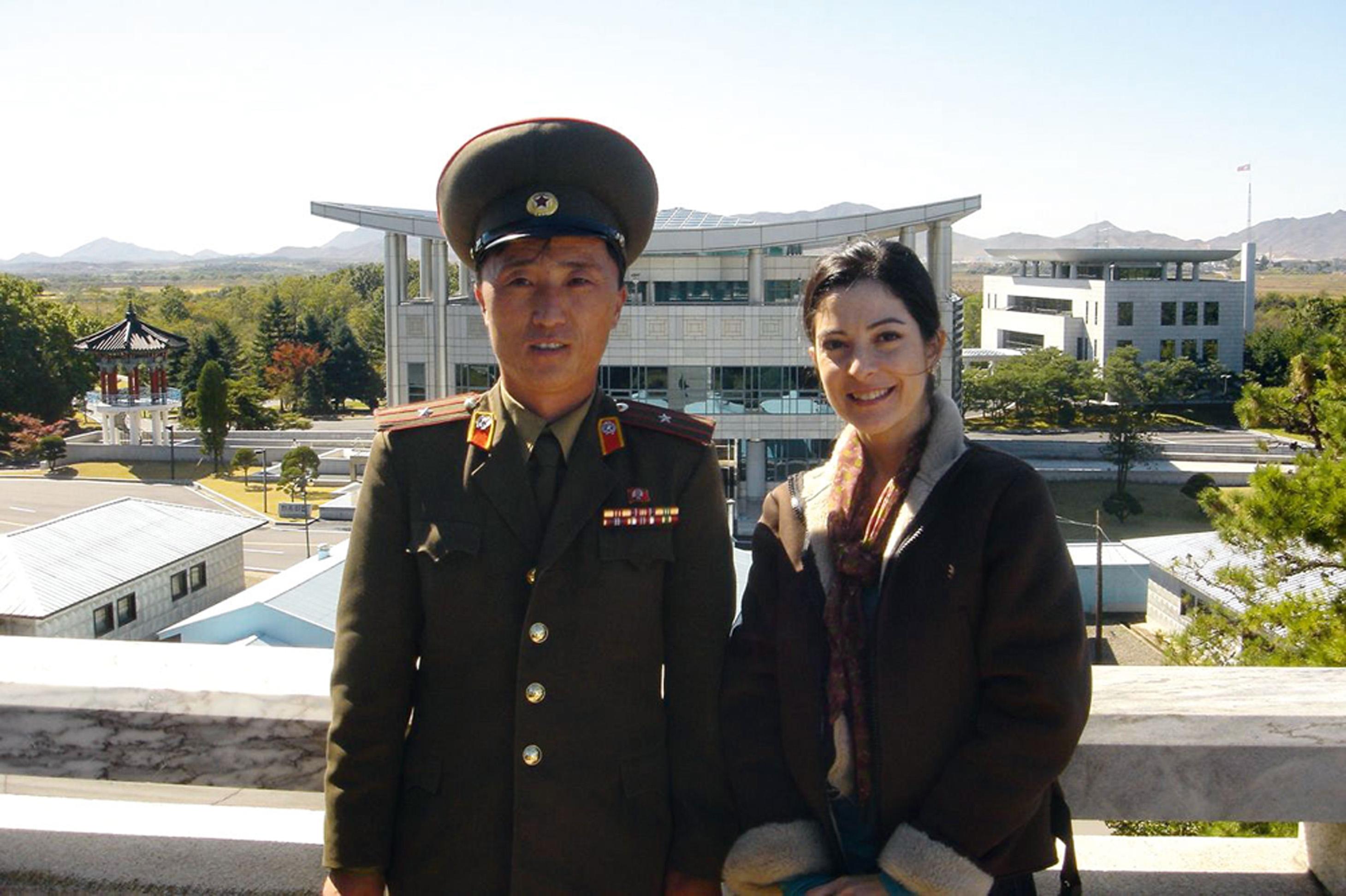 Em 2005, na Coreia do Norte