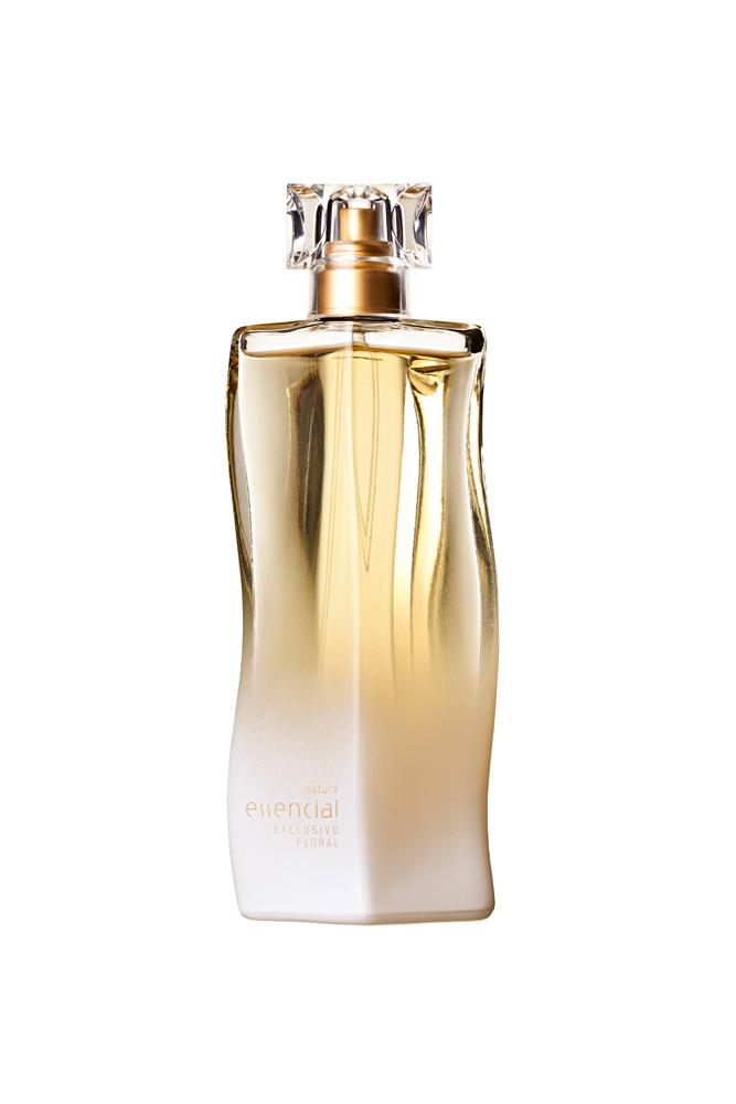 3. Essencial Exclusivo Floral, R$ 154: aroma delicado com notas  de flores brancas e óleos essenciais. Natura  0800-115566