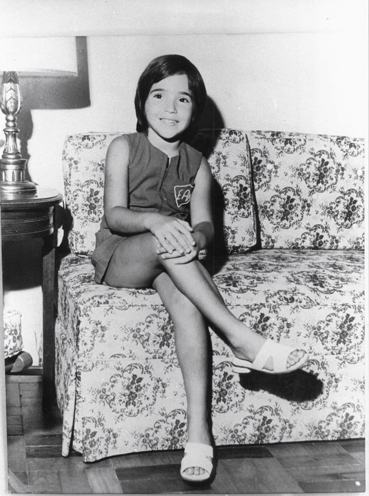 Daniela aos 9 anos
