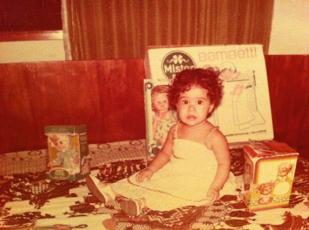 Malu com 1 ano de idade