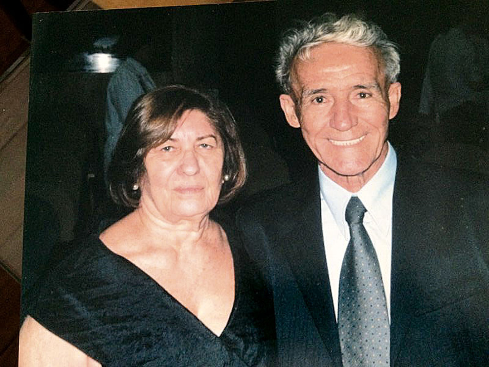 Os pais Josinete e Pedro